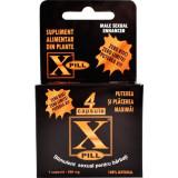 X-Pill Stimulent sexual pentru barbati 4 capsule