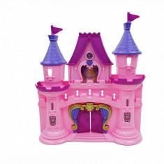 Castel roz de jucarie cu muzica si lumini