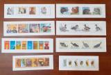 Lot Timbre Belgia - 8 Carnete Nestampilate MNH Tematica Fauna + Diverse Anii '90