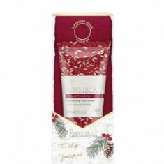 Set cadou Baylis & Harding The Fuzzy Duck Winter Wonderland (Crema pentru picioare, 125 ml + 1 x Pereche de sosete)