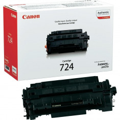 Toner original Canon CRG724 Black pentru LBP6750DN