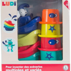 Jucarie de baie Mini Monkeys Ludi