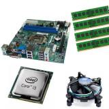 Kit Placa de baza Acer H61H2-AD, DDR3, Intel Core i3-3220 3.3GHz, 4GB DDR3,...