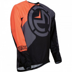Tricou copii motocross Moose Racing Qualifier negru/portocaliu marime L Cod Produs: MX_NEW 29121690PE