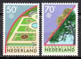 OLANDA 1986, EUROPA CEPT, serie neuzată, MNH, Nestampilat
