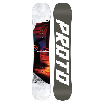 Placa Snowboard Never Summer Proto Type Two 157 2020 foto