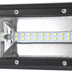 LED Bar Auto 216W, leduri pe 3 randuri, 12V-24V, 15120 Lumeni, 15,5″/39,4 cm, Combo Beam 12/60 Grade PREMIUM