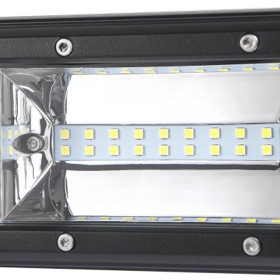 LED Bar Auto 216W, leduri pe 3 randuri, 12V-24V, 15120 Lumeni, 15,5″/39,4 cm, Combo Beam 12/60 Grade PREMIUM foto