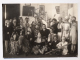 FOTOGRAFIE VECHE - TRADITII - STEAUA - PERSONAJE MASCATE - SARBATORI IARNA