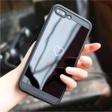 Huse de telefon cu inimioara, pentru iphone X 7/7 Plus (snurul nu este inclus)