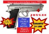 Pistol 4 Joules Taurus PT 92 Silver Edition CYBERGUN CO2