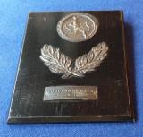 Medalia Placheta competitie sportiva elevi - scoala concurs de sala Oradea 1954