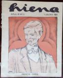 REVISTA HIENA an 4 nr 5 (1 ian. 1924) [portret PRINTUL CAROL / desene de POPA]