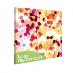 Tablou fosforescent Acoperire abstracta