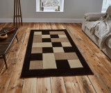 Covor Matrix Brown & Beige 60x225 cm