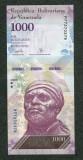 Venezuela 1000 bolivares 23 martie 2017 necirculata