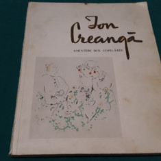 ION CREANGĂ *AMINTIRI DIN COPILĂRIE/ IUSTRAȚII DE CONSTANTIN BACIU/ 1968