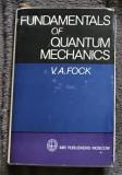 Fundamentals of quantum mechanics / V. A. Fock