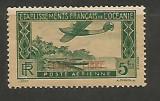 (No 8)timbre-FRANTA POSTA AERIANA cu supratipar