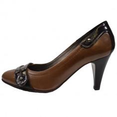 Pantofi dama, din piele naturala, marca Gatta, 516DP967267MA-1, negru
