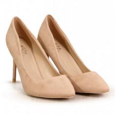 PDS111-155 Pantofi eleganti cu toc inalt