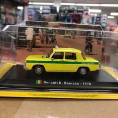 Macheta Renault 8 - Bamako - 1970 - Taxiuri scara 1:43