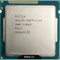 Procesor Intel Ivy Bridge, Core i5 3450 3.10GHz-Socket 1155, Intel Core i5, 4