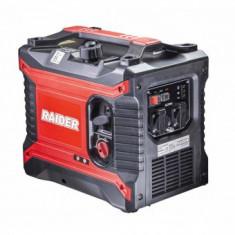 Generator pe benzina 4 timpi, Inverter, Raider RD-GG10, putere 2.5 kW, 230V