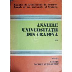Analele Universitatii din Craiova 1988
