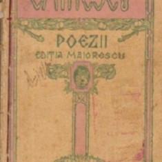 Eminescu poezii , editia maiorescu , fara an ,271 pagini
