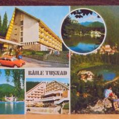 R.S.R. - BAILE TUSNAD - 5 VEDERI A LOCALITATII - CIRCULATA, TIMBRATA.