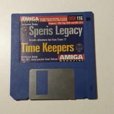 Joc AMIGA Speris Legacy + Time Keepers - DEMO - G