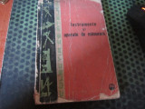 Instrumente si aparate de masurat an 1962 h 20