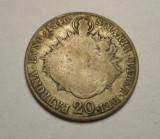 20 kreuzer 1840 B