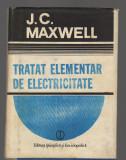 C9514 TRATAT ELEMENTAR DE ELECTRICITATE - J.C. MAXWELL