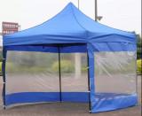 3x3m Pavilion pliabil NOU cu 3 laturi cu ferestre
