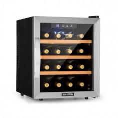 Klarstein Reserva 16, frigider de vin, 16 fl/48 l, afișaj Touch LED, negru