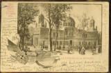 Carte Postala, Franta, Pavilionul Romaniei la Expozitia Universala Paris 1900, Circulata, Printata