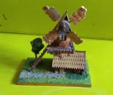 Macheta diorama jucarie veche moara vant suvenir artizanat romanesc