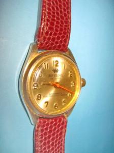 4481-Ceas mana vechi barbat SuperOma DeLuxe Swiss made 1 rubin.