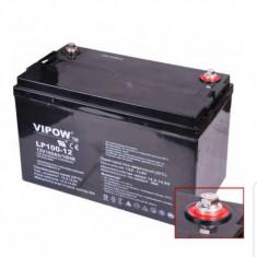 Acumulator Vipow Plumb 12V 100Ah bat0225