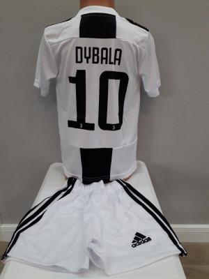 Echipament  fotbal pentru copii Juventus Dybala model nou foto