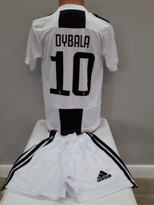 Echipament  fotbal pentru copii Juventus Dybala model nou