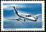 Brazilia 1979 - Aviatie 1v.,neuzat,perfecta stare(z), Nestampilat