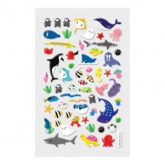 Itsy Bitsy Stickers - Marine Friends (1 Sheet)