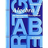 Saxon Algebra 1/2 Answer Key & Tests Third Edition