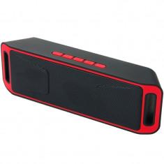 Boxa Portabila iUni DF02, Radio, Slot Card, Red