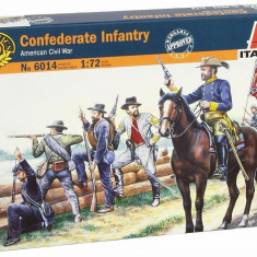 1:72 CONFEDERATE TROOPS - 50 figures 1:72