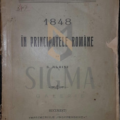 1848 IN PRINCIPATELE ROMANE, 1910 - S . ALBINI