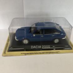 Macheta Dacia 2000 Deagostini 1/43